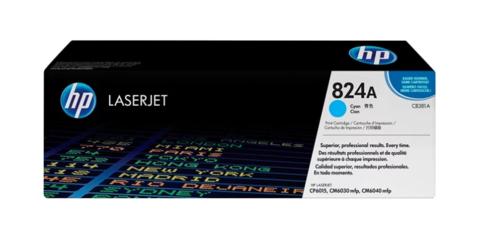 Оригинальный картридж HP CB381A (№381A), голубой