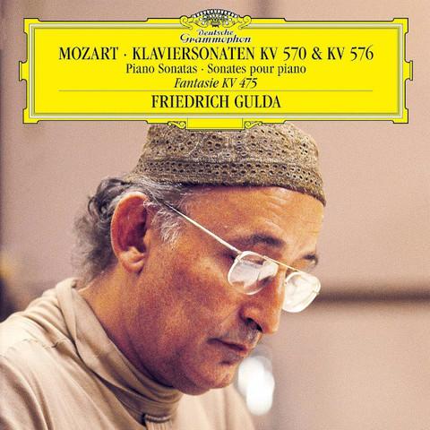 Friedrich Gulda / Mozart: Piano Sonatas (LP)