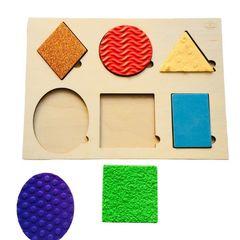 Тактильная игра Геометрические формы, Сенсорика
