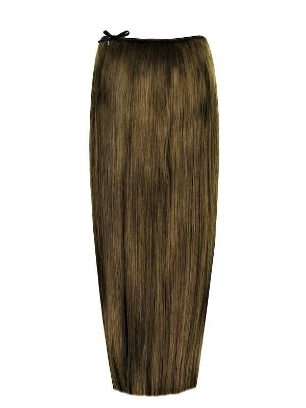 Волосы на леске Flip in- цвет #8-русый