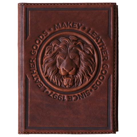 Обложка на паспорт «Royal». Цвет коричневый