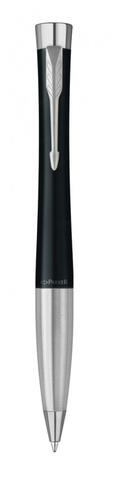 Шариковая ручка Parker Urban Muted Black Chrome Trim M Blue123