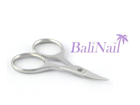 Ногтевые ножницы (блестящие) - изогнутые - 6,5 см