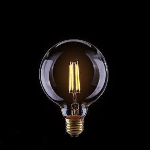 Светодиодная ретро лампа Эдисон G95 LED 6W E27