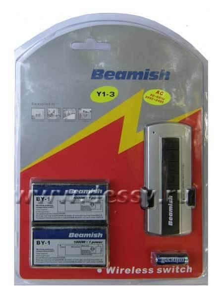 BY1-3. Трёхканальный раздельный дистанционный переключатель с коммутируемой мощностью 1000 Вт