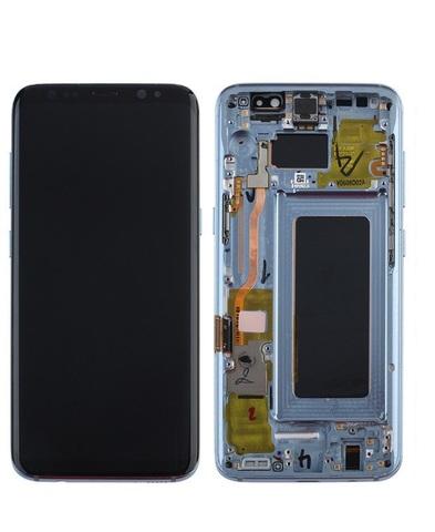 LCD SAMSUNG Galaxy S8 G950F + Touch + Frame Blue Orig