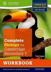 Cambridge Checkpoint Science Secondary 1, Biology, Workbook Oxford University Press