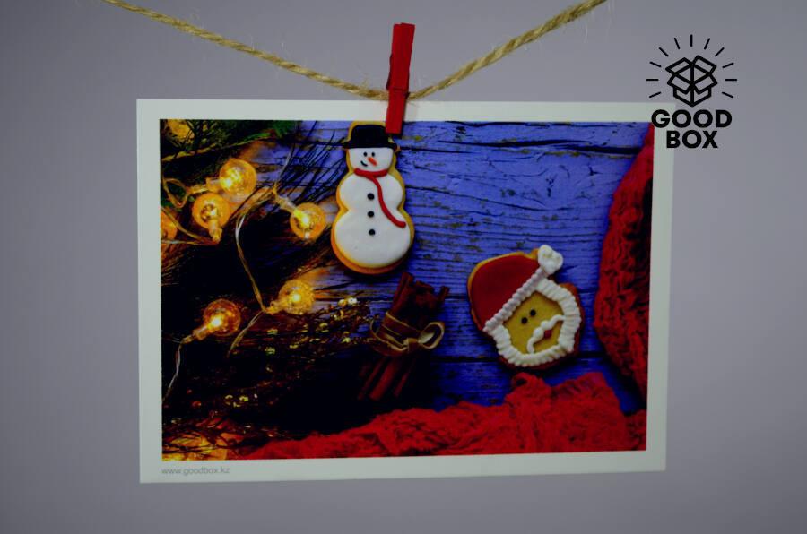 Рождественские открытки купить оптом в Казахстане