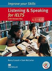 Improve Your Skills IELTS 4.5-6 List&Speak SB W/Key +MPO