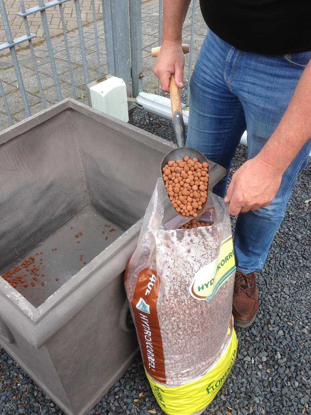 Садовая лопатка DeWit рукоятка из ясеня 800мм