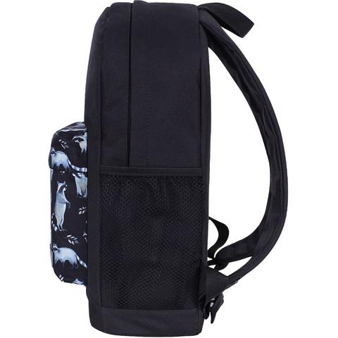 Рюкзак Bagland Молодежный W/R 17 л. черный 982 (00533662)