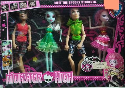 Набор из 4 кукол