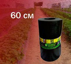 Лента бордюрная высота 60 см, толщина 2 мм, в рулоне 10 метров. Черный