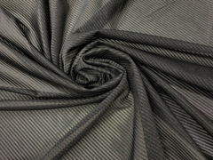 Сетка эластичная чёрная в полоску
