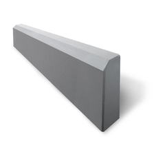 Бордюр тротуарный 500х210х70мм серый