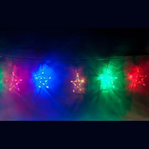 Гирлянда фигурная «звезды» 230V 120 LED RGB, CL107 (Feron)