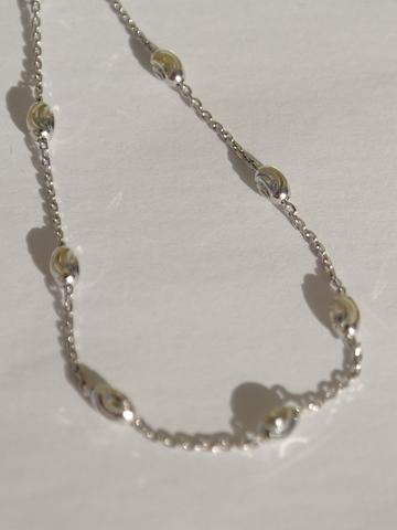 Браслет со спиралями(серебряный браслет).
