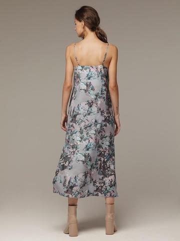 Женское принтованное платье из 100% шелка - фото 3