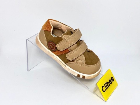 Clibee P263 Beige/Orange 22-27