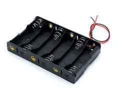 Отсек для батареек 6хАА без штекера