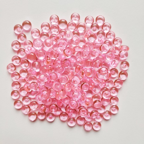 Фишболы для слайма гранулят розовый