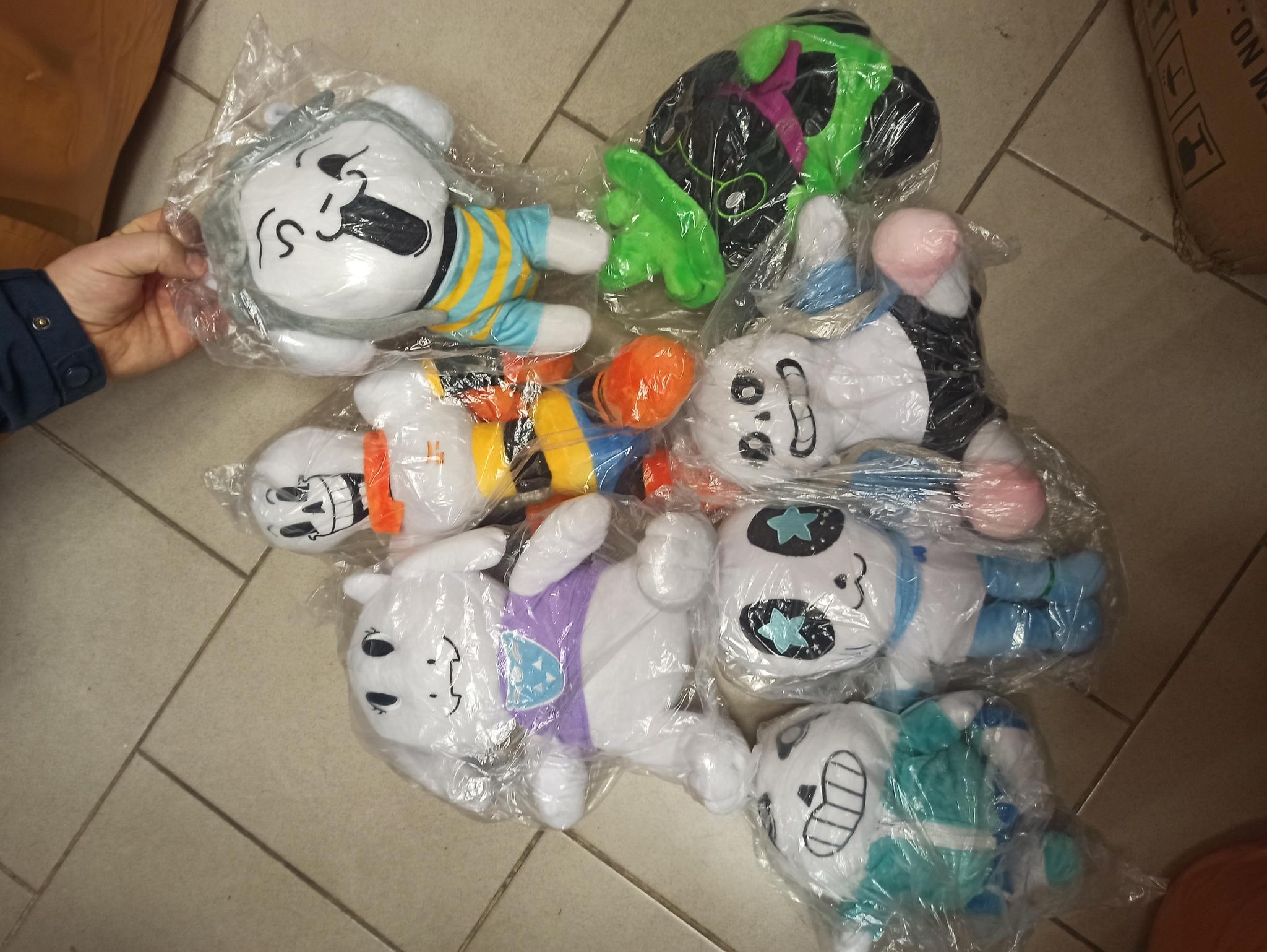 Набор мягких игрушек Undertale 7 шт
