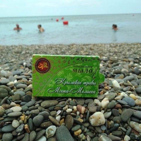 Натуральное мыло «Мята-Мелисса»™Крымская Натуральная Коллекция