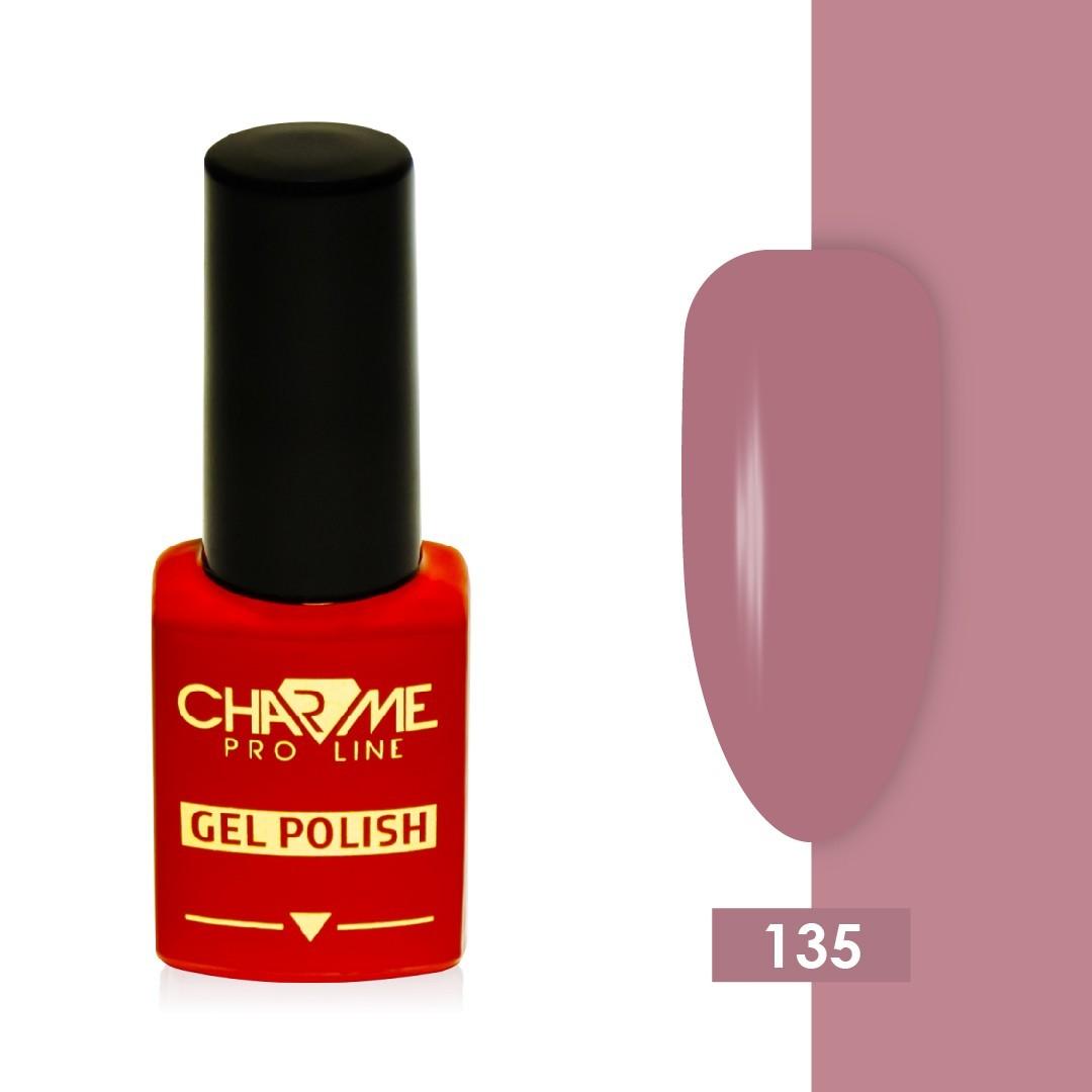 Гель-лак 135 - лилово-розовый коралл Charme 10 мл