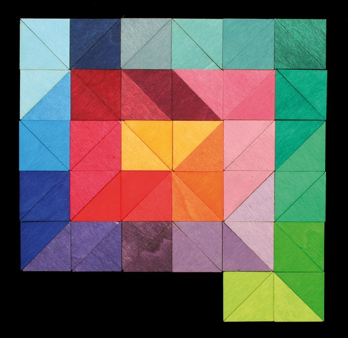 Магнитная мозаика Треугольники