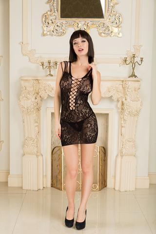 Соблазнительное платье-сетка - Dolce Piccante