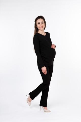 Лонгслив для беременных 10046 черный
