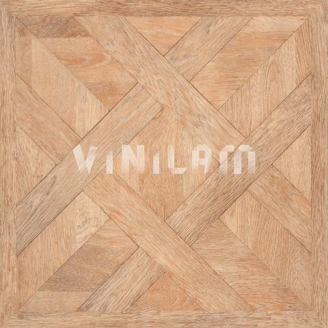Кварц виниловая плитка Vinilam 216515 - Паркет Кремовый