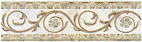 Бордюр Травы бежевый C184\829 200х58