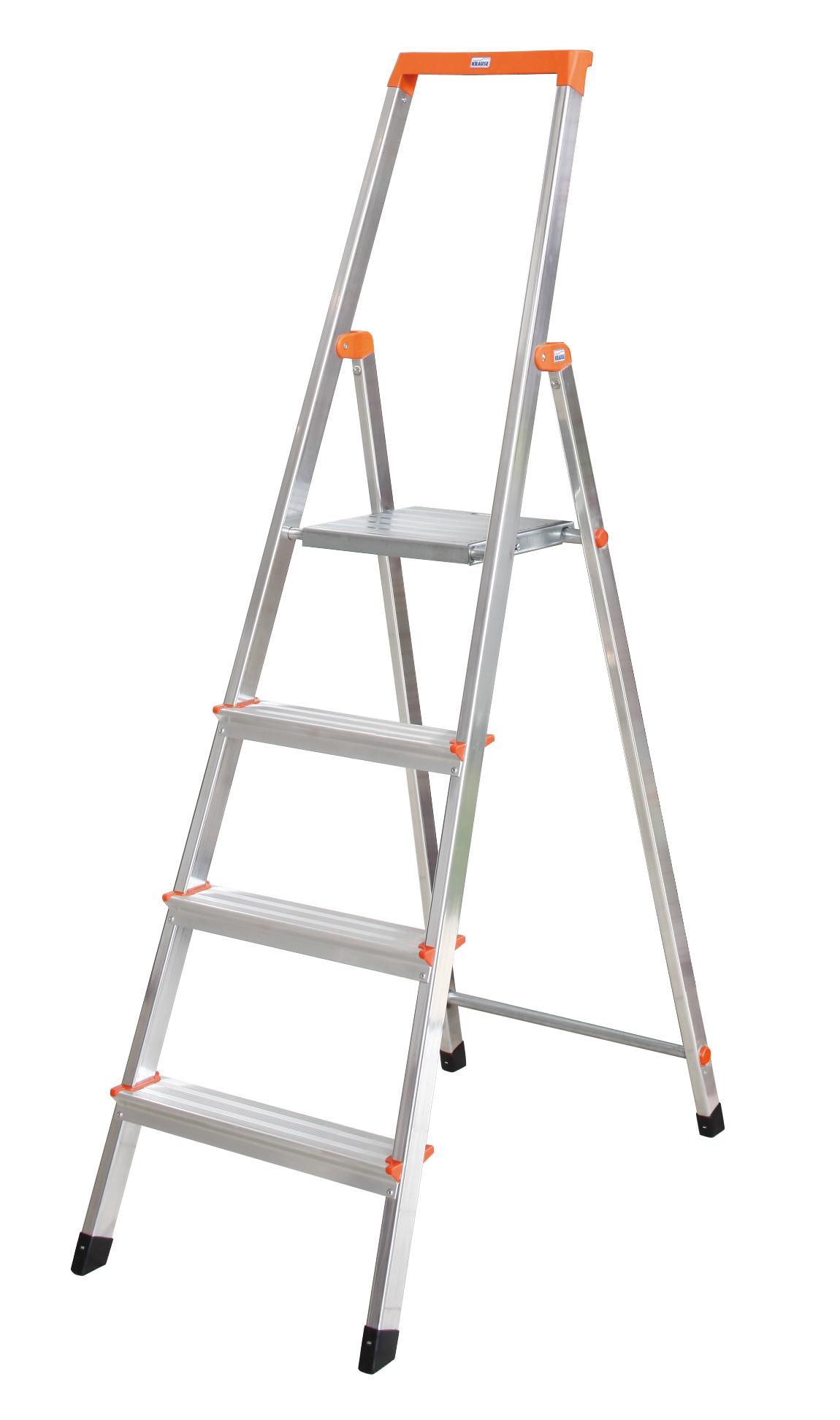 ROLLY Лестница двусторонняя складная, ступенек 2 х 2, алюм