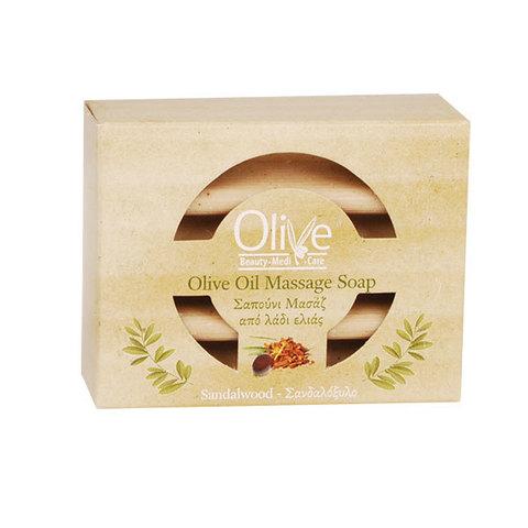 Массажное мыло с сандаловым маслом Minoan Life