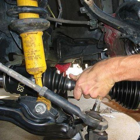 Замена привода ШРУС Mazda BT-50
