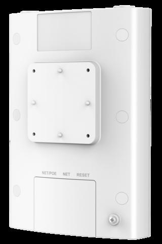 Grandstream GWN7630LR - WiFi точка доступа. Уличная установка, IP66, 2-ух диапазонная, технология 4:4x4 MU-MIMO, 200+ пользователей, сменные антенны