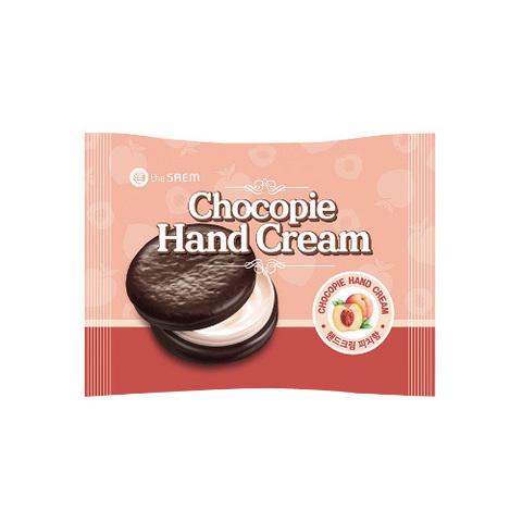 The Saem Chocopie Hand Cream Peach персиковый крем для рук