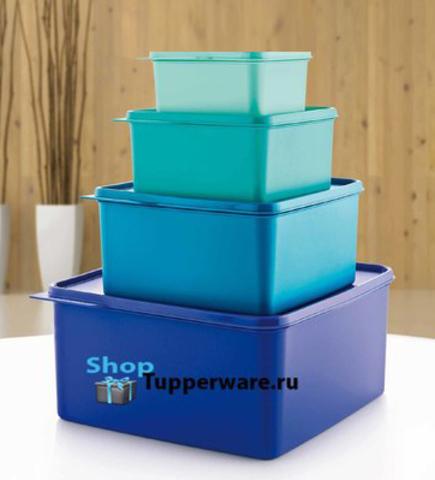 Набор контейнеров Каскад (500мл/1.2л/2.5л/5л) рис.2