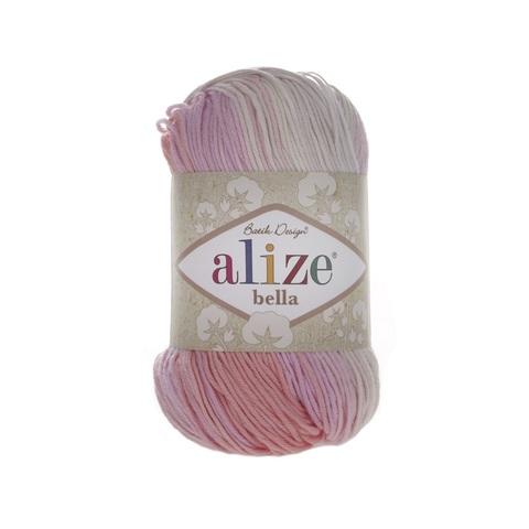 Пряжа Alize Bella Batik 100 цвет 2807