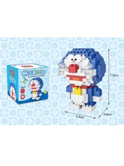Конструктор Wisehawk & LNO Дораэмон 199 деталей NO. 2523 Doraemon series