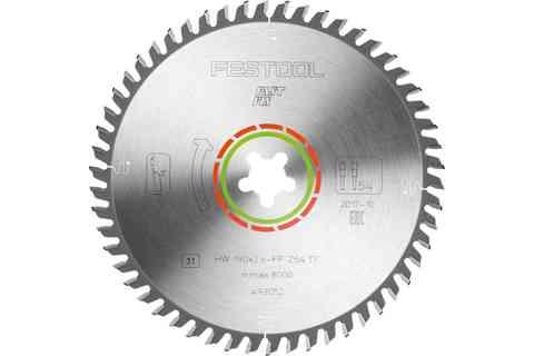 Диск пильный специальный по ламинату  HW 190 x 2,6/1,8 x 20 мм TF 54