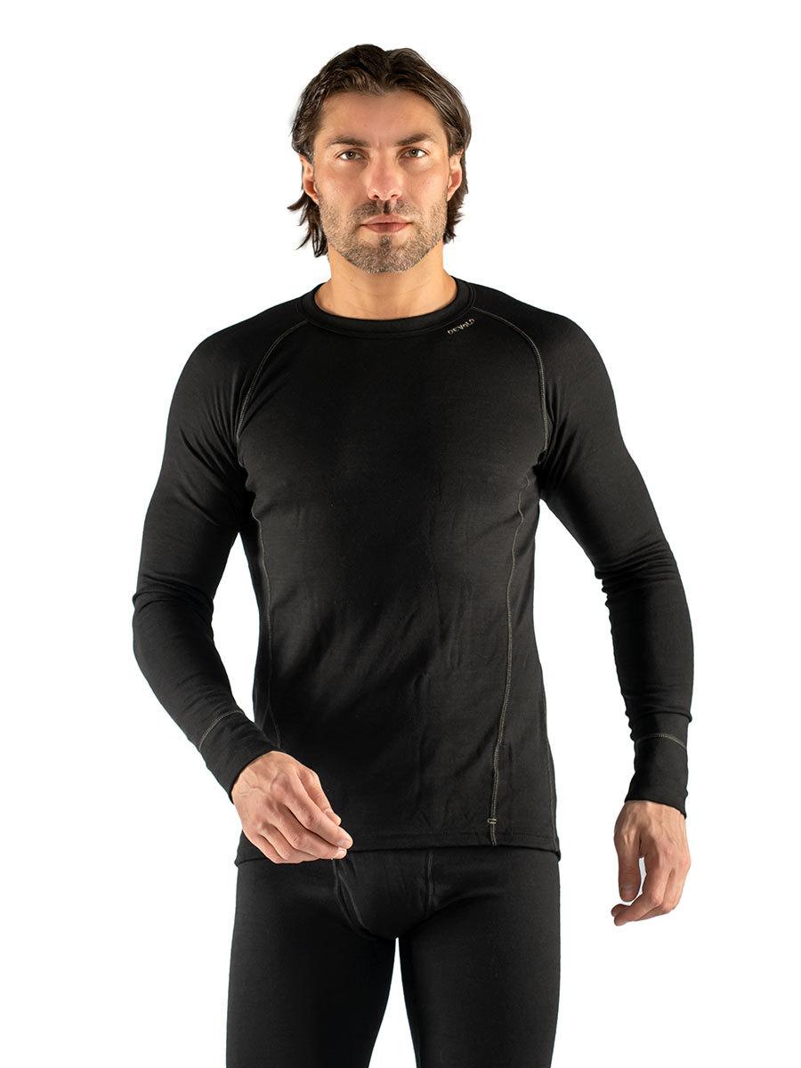 Devold термобелье футболка Duo Active Man Shirt Black