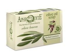 Мыло оливковое с листьями оливы Aphrodite 100 гр