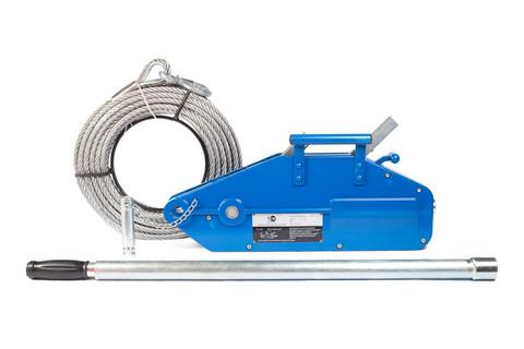 Лебедка рычажная тросовая TOR МТМ 1600, 1,6 т, L=20м, шт