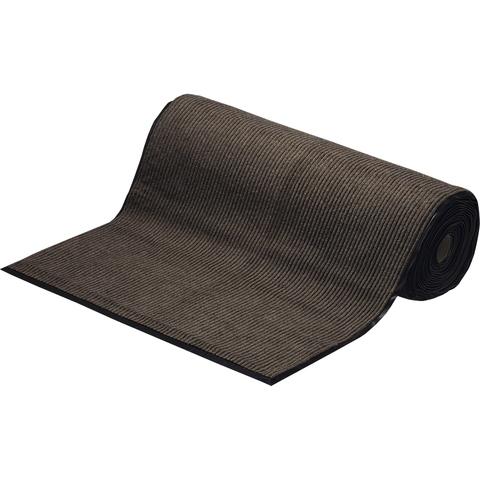 """Коврик влаговпитывающий, ребристый """"TRIP"""" 120*1500 см, коричневый"""