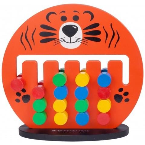 Детские игры логические - Тигренок