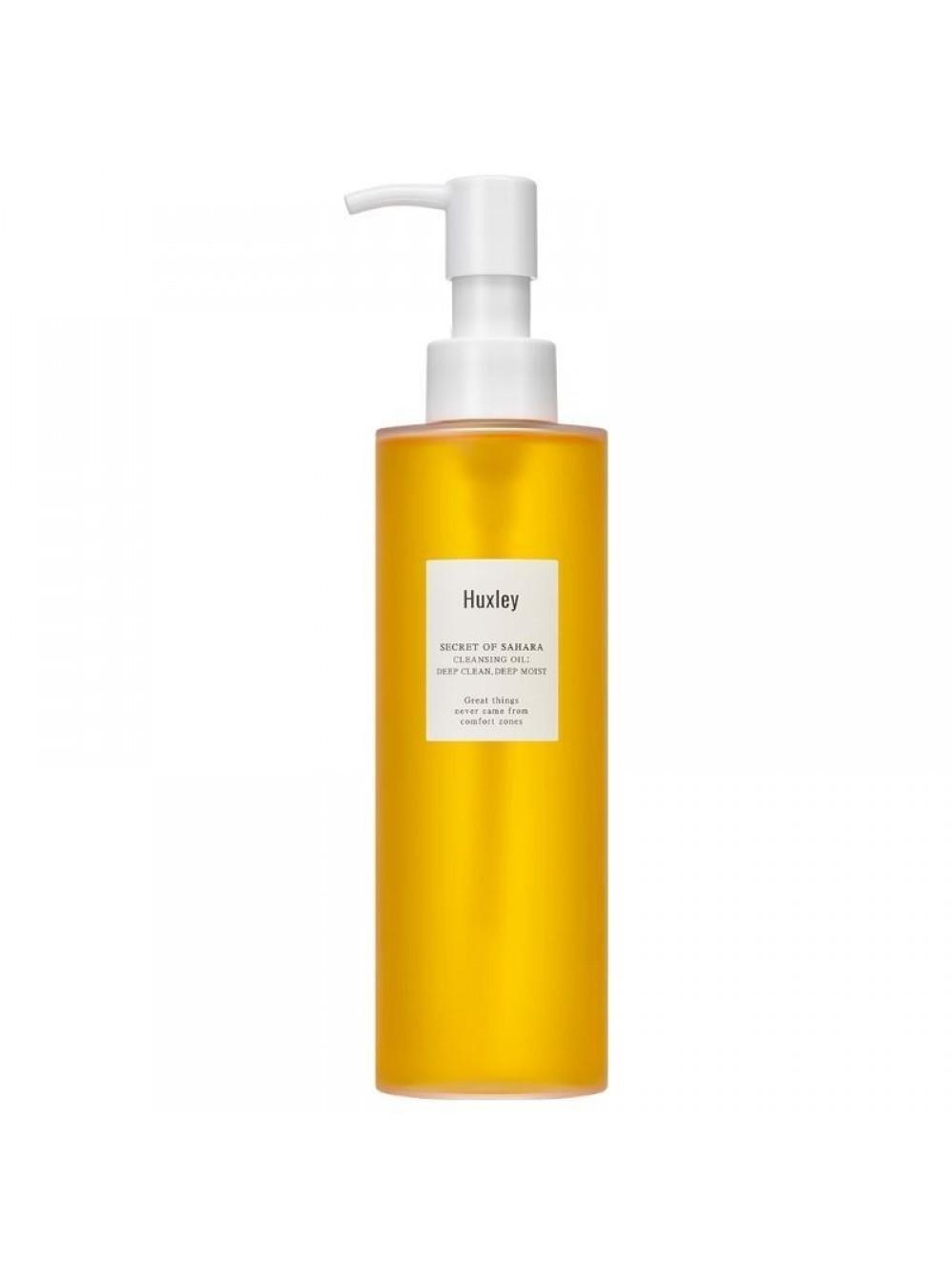 Гидрофильное масло Huxley Deep clean, deep moist 200мл