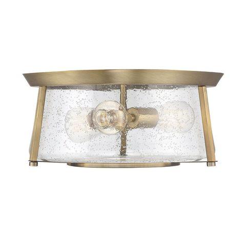 Потолочный светильник Dash 3 Light Warm Brass Flush Mount арт. 6-2182-16-322