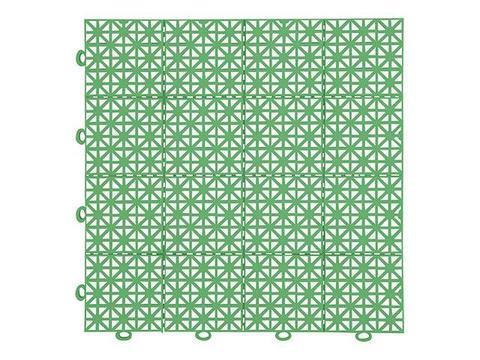 Покрытие модульное 30х30см светло-зеленое 999139 (11шт)